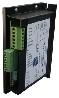 DC Servo Drive available in different current ranges.